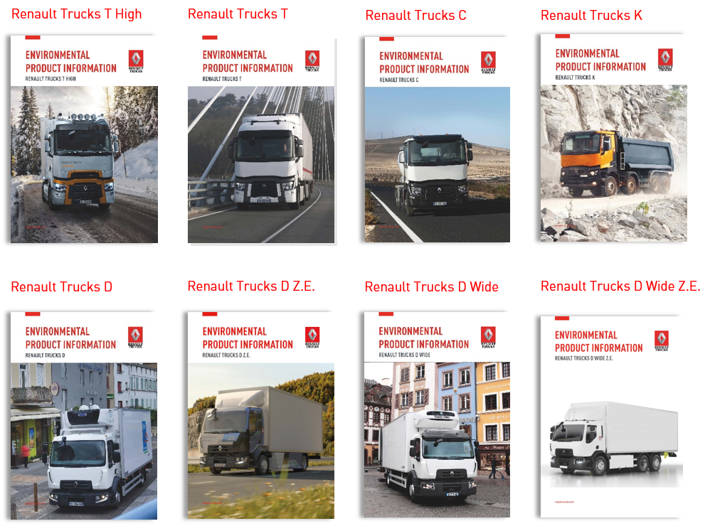 Renault Trucks Life cycle analysis