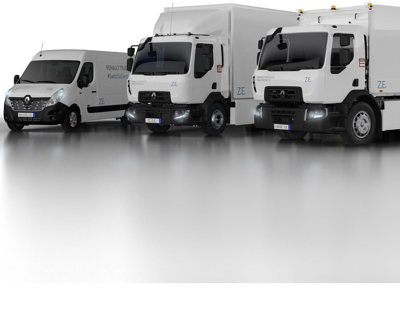 renault-trucks-ze-range-electric trucks