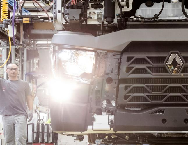 Renault Trucks usines factories