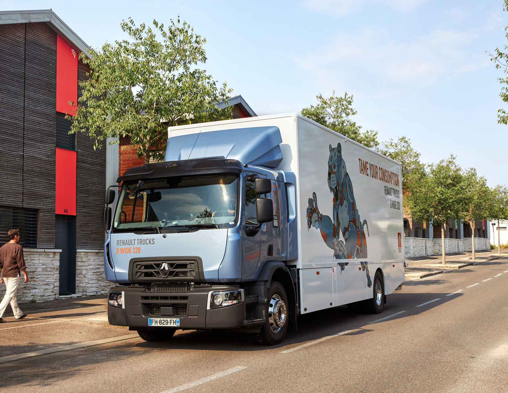 Renault Trucks D 320 sustainable truck of the year