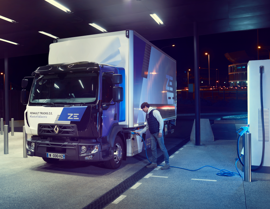 Renault Trucks garantit la performance des batteries dans le temps