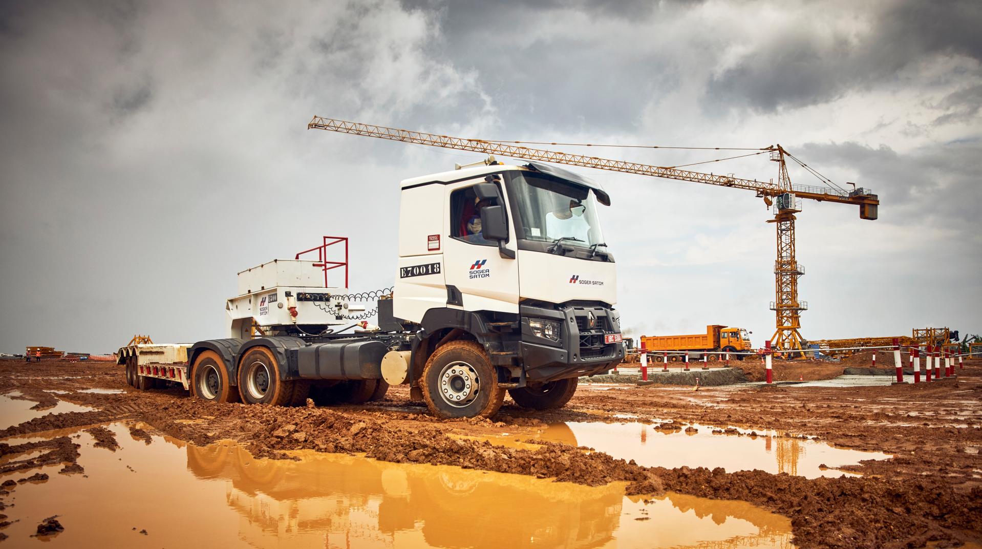 Renault Trucks gamme Construction